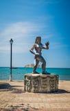 Statue einer Tayrona-Frau, Santa Marta, Kolumbien Lizenzfreies Stockbild