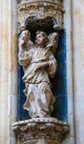 Statue eines Engels in Convento de San Esteban, Salamanca Stockfoto
