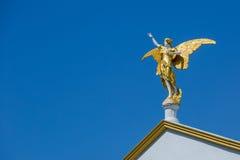Statue eines Engels gemacht vom Stein Lizenzfreies Stockfoto