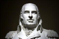 Statue eines französischen militrary Mannes Stockbild