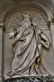 Statue eines Gottes Rom, Italien Lizenzfreie Stockfotografie