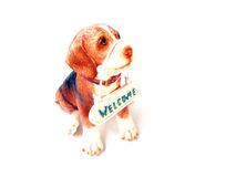 Statue eines Hundes Lizenzfreie Stockbilder