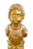 Statue eines Jungen. Lizenzfreie Stockbilder