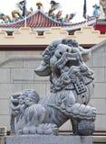 Statue eines Löwes. Stockfotografie