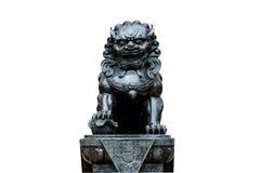 Statue eines Löwes lizenzfreies stockfoto