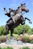 Statue eines Patrioten stockbilder