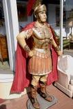Statue eines römischen Gladiators stockfoto
