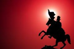 Statue eines Ritters Lizenzfreies Stockfoto