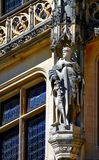 Statue eines Ritters Stockbilder
