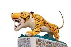Statue eines Tigers Lizenzfreie Stockfotos