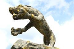Statue eines Tigers Lizenzfreie Stockfotografie