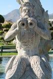 Statue eines Wasserbrunnens Stockbilder