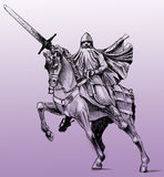 Statue of El Cid Stock Image