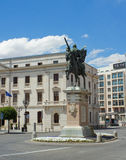 Statue of El Cid, Burgos. Spain Royalty Free Stock Photos