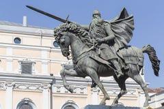 Statue of El Cid, Burgos, Spain Stock Image