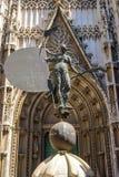 The statue of El Giraldillo in Seville royalty free stock image