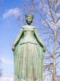 Statue of Eleanor of Viseu in Beja Royalty Free Stock Image