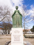 Statue of Eleanor of Viseu in Beja Royalty Free Stock Photo