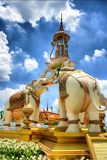 Statue elephant monument Royalty Free Stock Photography