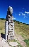 Statue of elephant near Morava river source Royalty Free Stock Image
