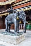 Statue of elephant at Wat Phrathat Doi Suthep, Chiang  Mai Stock Photo