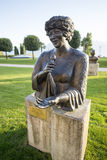 Statue of Ella Fitzgerald in Montreux Stock Photos