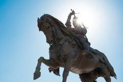 Statue of emanuele filiberto in Turin Stock Image
