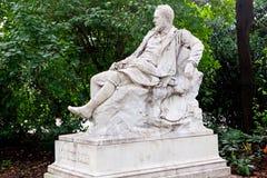 Statue Emil Jakob Schindler, Wien, Österreich Stockbild