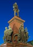 Statue of Emperor Alexander II Stock Images