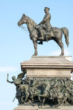 Statue of Emperor Alexander II, Sofia, Bulgaria. The monument of King Liberator is one of the most impressive monuments in Sofia, erected in honor of the stock photo