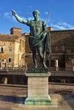 Statue Emperor Augustus Rome Stock Photos