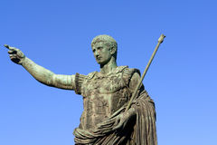 Statue of emperor Caesar Augustus Stock Photography