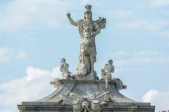 Statue Of Emperor Carol VI Royalty Free Stock Photography
