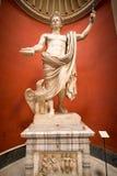 Statue of Emperor Claudius. VATICAN - CIRCA SEPTEMBER, 2014: Statue of Emperor Claudius in the Vatican Museum royalty free stock photography