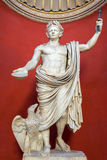Statue of Emperor Claudius in the Vatican Museum Royalty Free Stock Photography