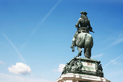 Statue of  emperor Franz Joseph I Royalty Free Stock Images
