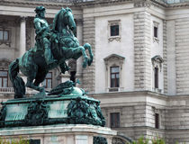 Statue of emperor Franz Joseph I Royalty Free Stock Image