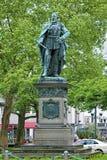 Statue of Emperor Friedrich III in Wiesbaden Stock Photography