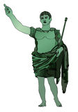 Statue of Emperor Gaius Julius Caesar Stock Photography