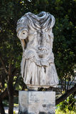 Statue of emperor Hadrian in Athens,Greece Stock Images