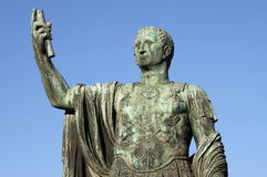 Statue of emperor Nerva Stock Images