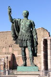 Statue of emperor Nerva. In Rome, Italy Royalty Free Stock Photo