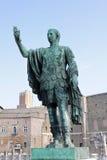Statue of emperor. Statue of Roman Emperor in Trajan's Forum. Rome, Italy Stock Image
