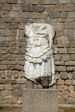 Statue of the Emperor Trajan Royalty Free Stock Image