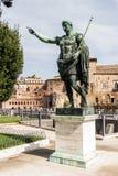 Statue of Emperor Trajan Stock Photos
