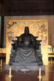 Statue of the Emperor Yongle Stock Photo