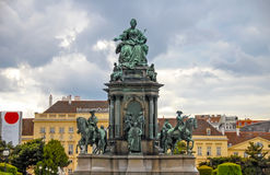 Statue of Empress Maria Theresa Royalty Free Stock Photography