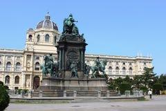 Statue Empress Maria Theresa, Vienna, Austria Royalty Free Stock Image