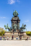 Statue of Empress Maria Theresia in Vienna Royalty Free Stock Photo