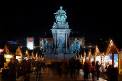 Statue of Empress Marie-Theresa, Vienna royalty free stock photo